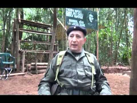 Colombia  Última entrevista al Mono Jojoy Comandante de las FARC Parte1/2