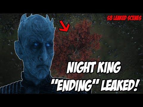 Night King Ending 'LEAKED' Scene! Game Of Thrones Season 8 (Leaked Scenes)