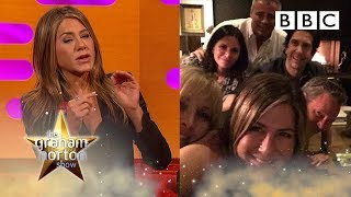 Why Jennifer Aniston joined Instagram and posted THAT picture | The Graham Norton Show - BBC
