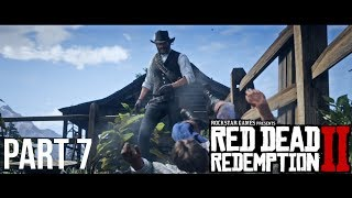 Red Dead Redemption 2 PART 7 - The Spines Of America And Thomas Downes