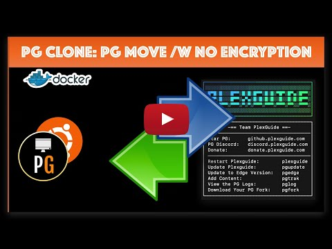 PGClone: PG Move with No Encryption