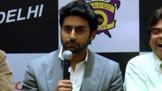 Abhishek Bachchan INSULTS Journalist at Press Conference