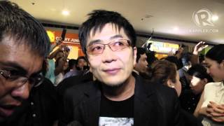 Rurouni Kenshin director Keishi Otomo at Manila premiere