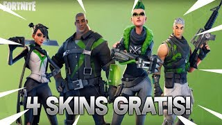 HOW TO HAVE 4 FREE SKINS IN FORTNITE! YOU HAVE TO SEE IT!
