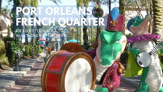 Port Orleans French Quarter FULL Walk Around Tour, Walt Disney World
