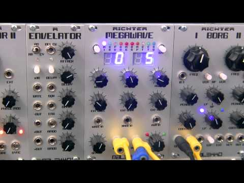 Modular Wild-Malekko Heavy Industry-Richter Megawave-Bank 5 Part One