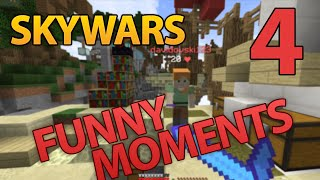 Skywars Funny Moments #4 - Hypixel Skywars - Minecraft // defib