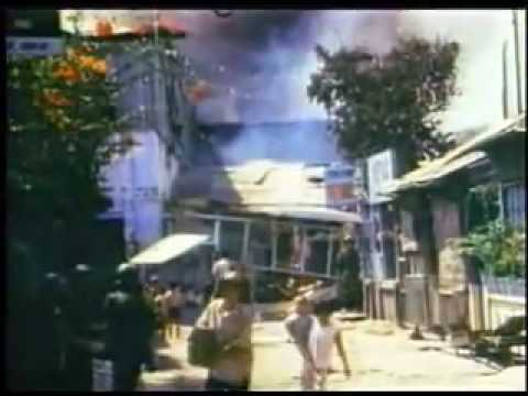 Tet Offensive 1968, US Embassy   Saigon fighting.flv