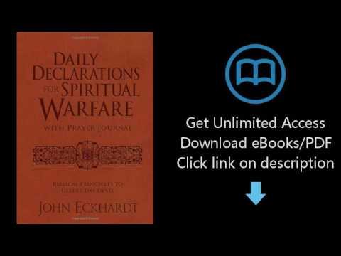 Download Daily Declarations for Spiritual Warfare With Prayer Journal: Biblical Principles to De PDF
