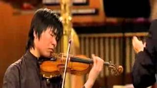 Jiafeng Chen | Tchaikovsky Violin Concerto | 2nd Mvt | Queen Elisabeth International Comp | 2009