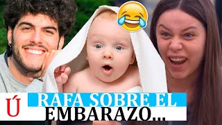 """Rafa habla sobre el embarazo de Eva: """"no sabemos si es niño o niña"""" tras su expulsión de OT 2020"""