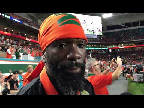 Ed Reed talks about the Miami Hurricanes