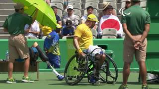 Wheelchair Tennis | Brazil v Japan | Men's Singles Second Round | Rio 2016 Paralympic Games