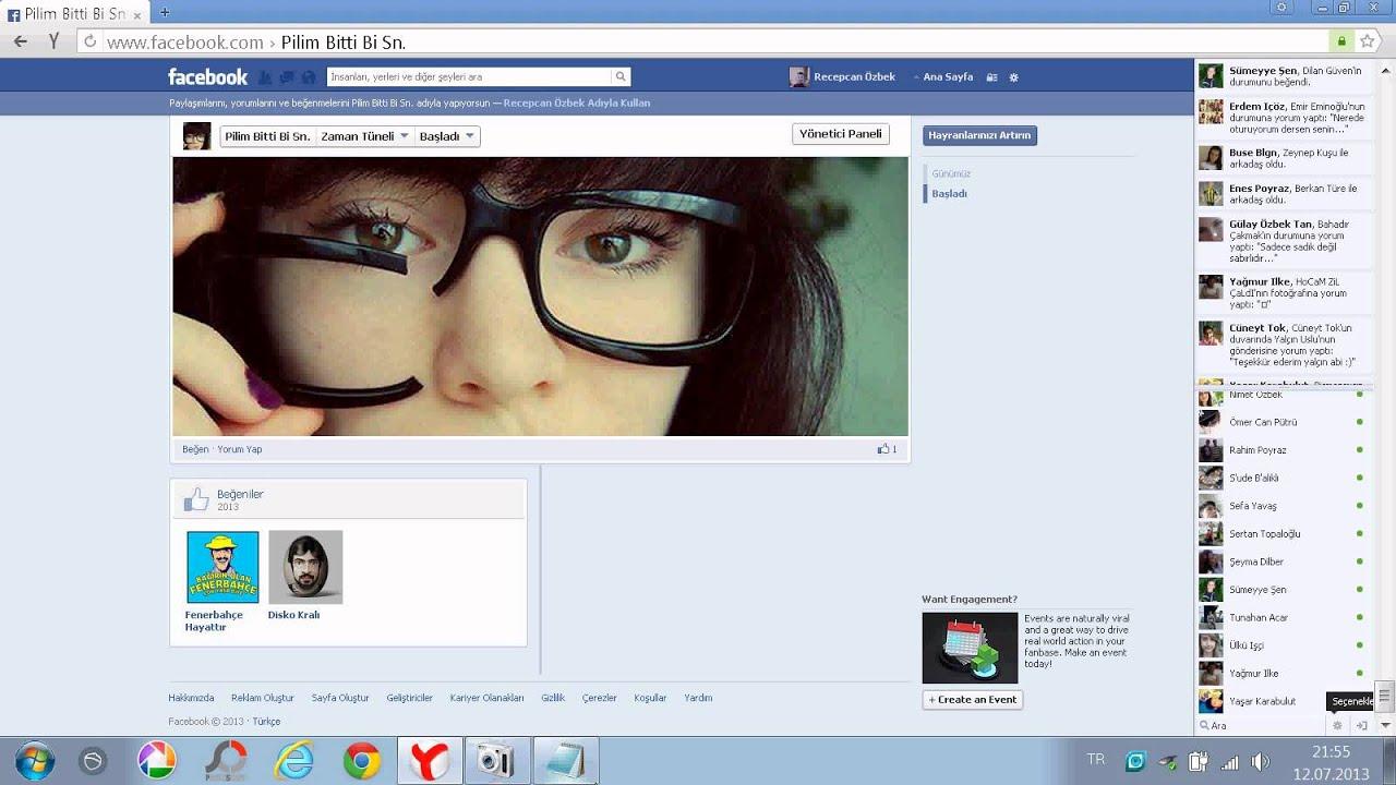 Facebook ta Nasıl Sayfa Oluşturulur.