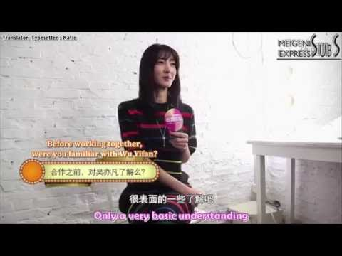 [ENG SUB] 141214 Wang Likun on Wu Yifan - Ali Yulebao Interview