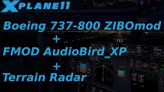 Установка Boeing 737-800 ZIBOmod в X-Plane 11
