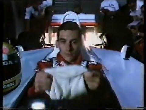 Ayrton Senna Shell Advert (1988)