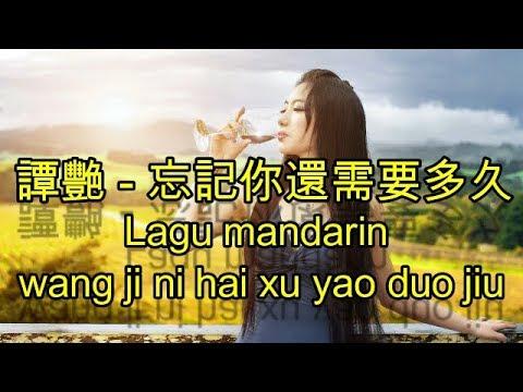 Lagu mandarin wang ji ni hai xu yao duo jiu,譚艷   忘記你還需要多久