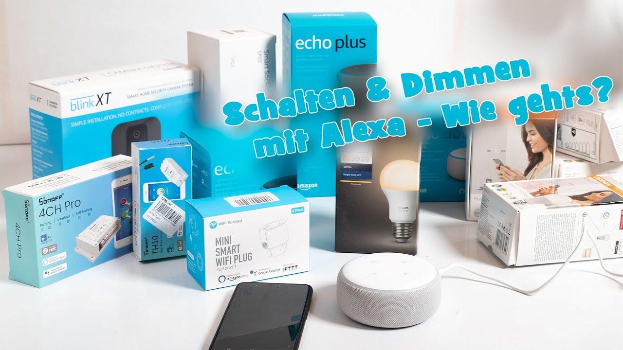 alexa smarthome mit alexa smarte ger te schalten wie. Black Bedroom Furniture Sets. Home Design Ideas