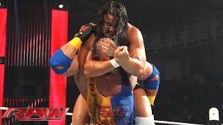 Ryback vs. Bo Dallas: Raw, April 27, 2015