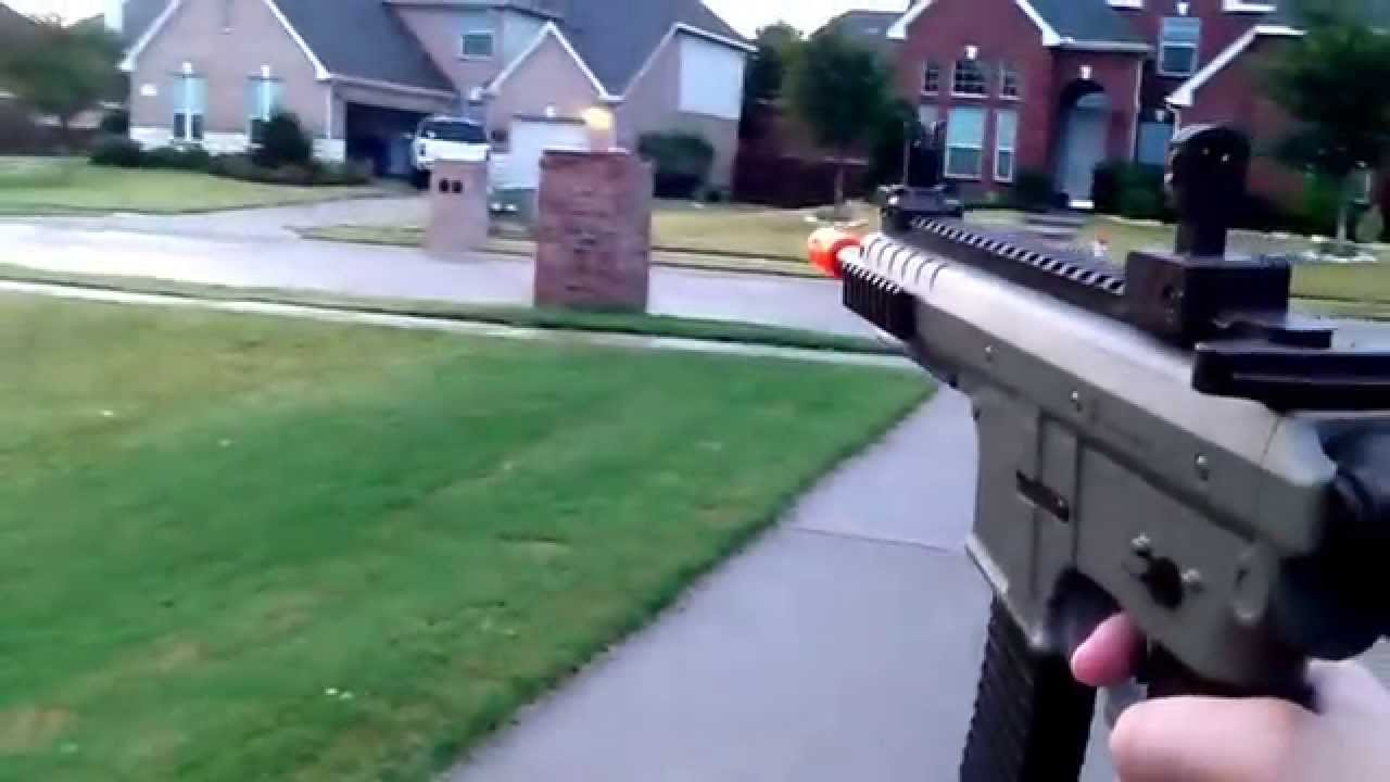 airsoft sr01 single fire tutorial youtube