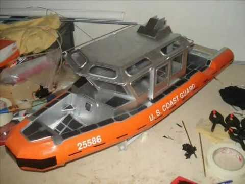 Coast Guard response boat small 25ft USCG