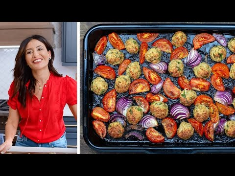 Easy Italian Chicken Meatballs Recipe
