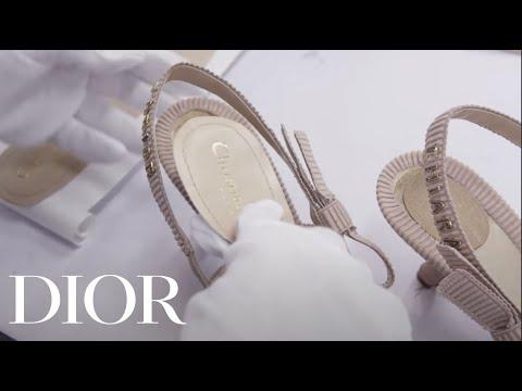 The Savoir Faire Of Chiara Ferragni S Wedding Shoes Dior