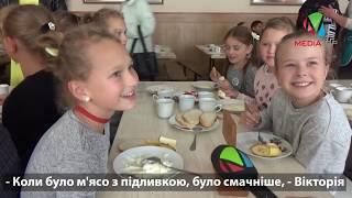 Третина учнів Почаївської школи не хочуть манної каші з хлібом на обід