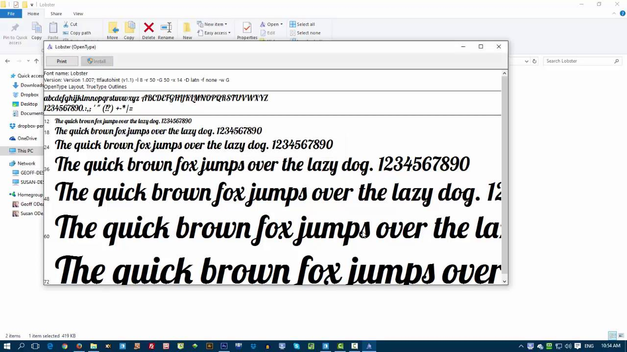 Add google fonts to photoshop youtube add google fonts to photoshop ccuart Gallery