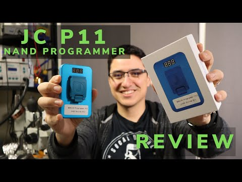 Why You NEED The NEW JC P11 IPhone 8 To XS MAX NAND Programmer | Review | How To Use