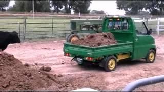 John Deer 4X4 mini dump truck