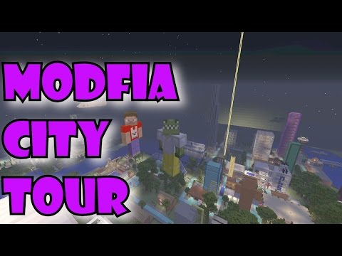Minecraft Modfia City!  - Subscriber World Tour