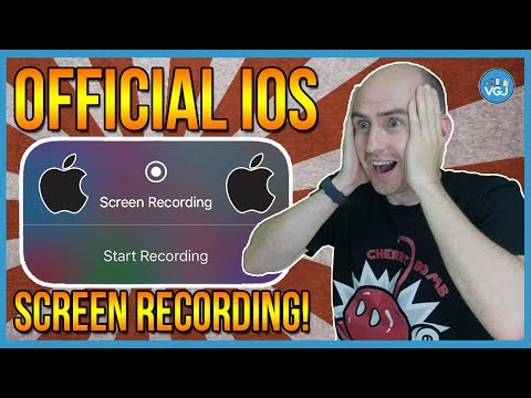 New iOS Screen Recorder: The Official Apple Recorder. No jailbreak. No PC. No Revoke! iOS 11 2017
