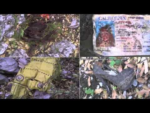 cuerpo de jenni rivera y el avion - YouTube
