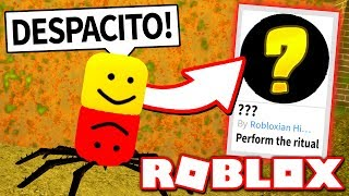 HOW TO GET THE SUPER SECRET BADGE in ROBLOXIAN HIGHSCHOOL!! *DESPACITO!* (Roblox)