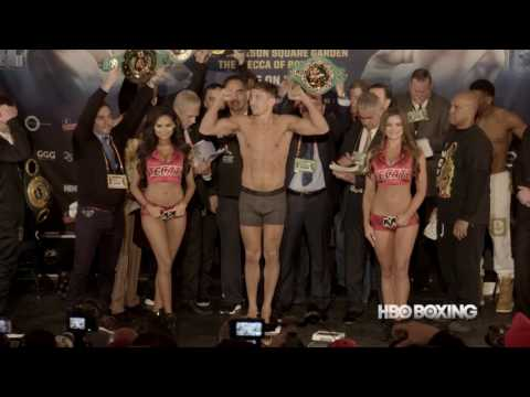 HBO Boxing News: Golovkin vs. Jacobs Weigh-In Recap (HBO Boxing)