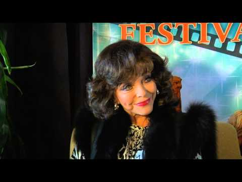 Joan Collins Visits Sedona International Film Festival
