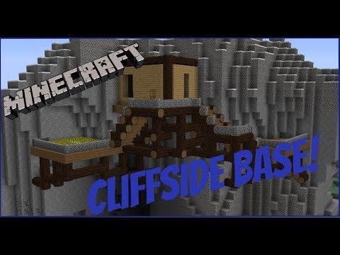 Minecraft-TimeLapse-Cliffside Base