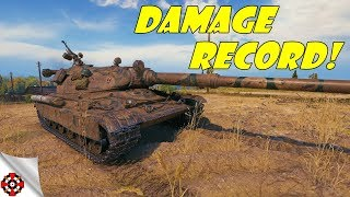 World of Tanks - 60TP Lewandowskiego DAMAGE RECORD! (WoT 60TP gameplay)