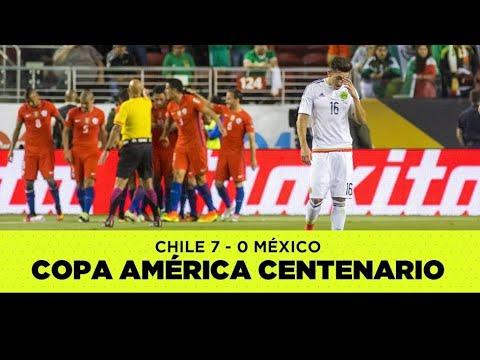 Chile Vs Mexico 7 0 La Humillante Goleada Que Impulso El Bicampeonato Youtube
