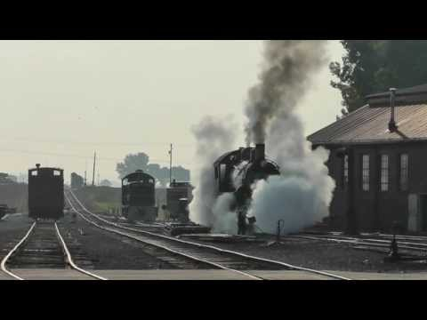 Strasburg Railroad Steam Freight Train, June 2013