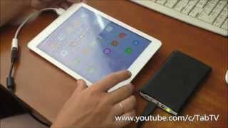 Как подключить к планшету внешний жесткий диск