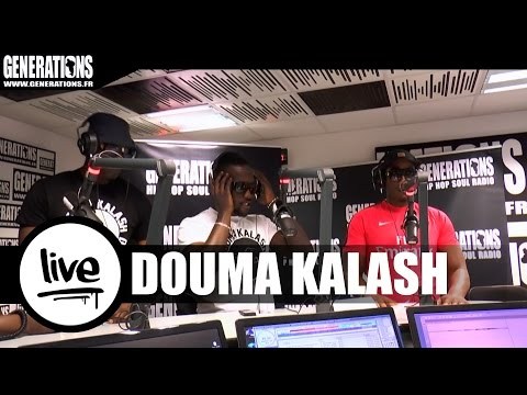 Youtube: Douma Kalash – Igo #3 (Live des studios de Generations)