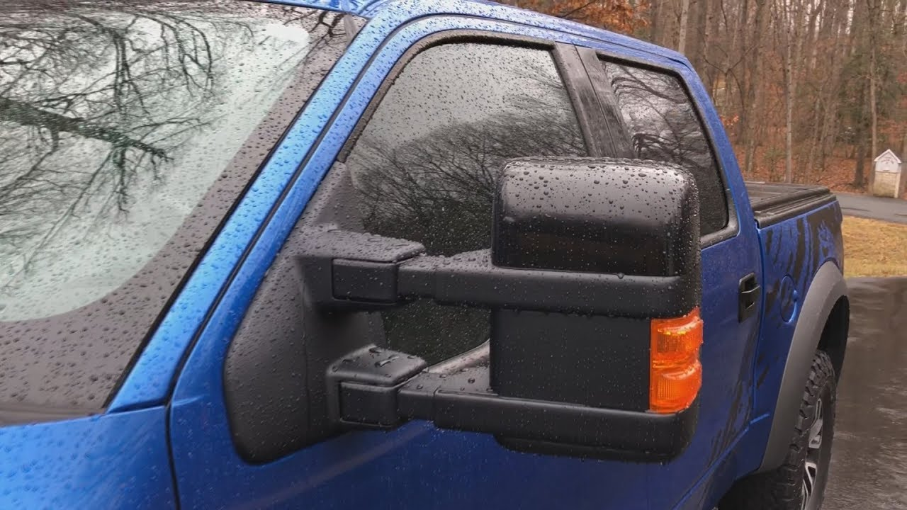 Adding Ford Factory Power Fold Power Telescoping Tow Mirrors To