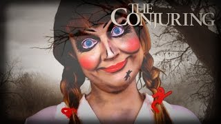 Annabelle Doll the Conjuring make up tutorial/ Ebru's Beauty Lounge