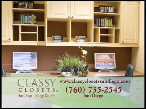 Superbe Classy Closets San Diego