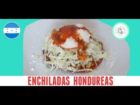 enchiladas hondureñas , las recetas de anita - YouTube
