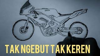 Belajar Menggambar Motor Ninja 2tak Drag Thailand By Menggambar