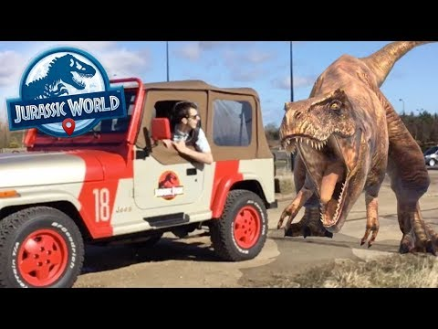 HUNTING REAL DINOSAURS!!! - Jurassic World Alive   Ep6 ( Jurassic GO )